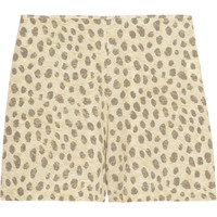 Equipment - Lewis leopard-print washed-silk shorts