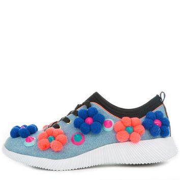 Women's Thames Denim Blue Sneakers