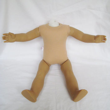 American Girl Doll Body No Head Used Incomplete For OOAK or Parts AG Doll Body Tagged