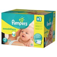 Pampers Swaddlers Diapers One Month Supply Pack (Select Size)