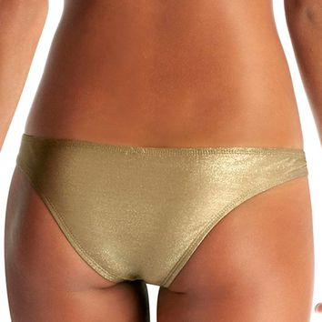 Vitamin A Neutra Hipster Bottom in Bronze Metallic 42B-BNZ