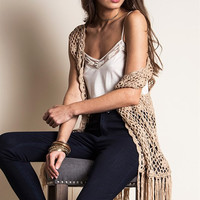 Knit Vest - Three Colors Available