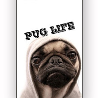 Funny Pug Life for iPhone 4/4S Case **