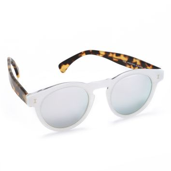 Leonard Sparkle Mirrored Sunglasses