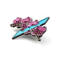 The Flume Inspired 'Petal Pusher' Pin
