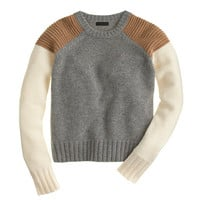 J.Crew Womens Collection Cashmere Sweater In Colorblock
