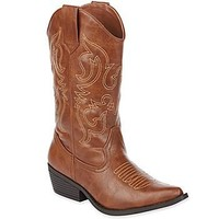 Olsenboyeâ?¢ Sandy Cowboy Boots : all women's shoes : womens shoes : jcpenney