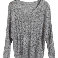 Long Batwing Sleeves Knitwear