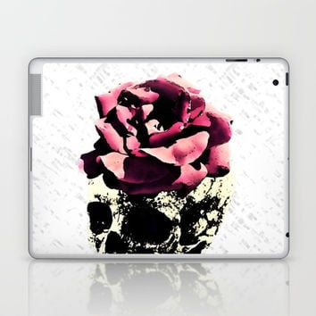 Lady Skull Laptop & iPad Skin by MaksciaMind