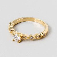 Belle Pave Princess Ring