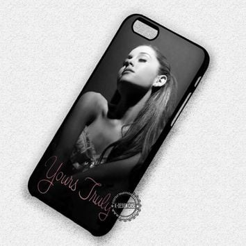 Ariana Grande Yours Truly - iPhone 7 6s 5c 4s SE Cases & Covers
