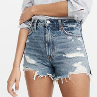 Womens High-Rise Girlfriend Shorts | Womens Bottoms | Abercrombie.com