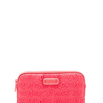 Marc by Marc Jacobs Adults Suck Neoprene Mini Tablet Case in Pink