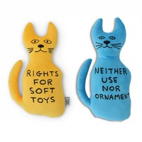 David Shrigley Cat Pillows