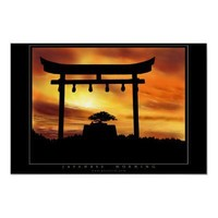 Japanese Morning Poster from Zazzle.com