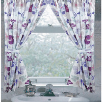Joanne Fabric Bathroom Window Curtain