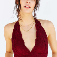 Out From Under Lace Halter Bra - Urban Outfitters