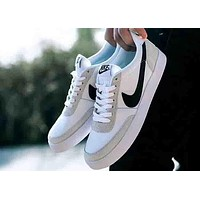 NIKE Killshot 2 Leathre 2018 men and women tide brand fashion casual sports running shoes F-MLDWX White