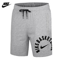NIKE 2018 new sports beach pants men's knitted casual shorts Grey