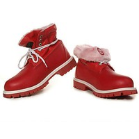 Timberland Women Fashion Leather Winter Waterproof Boots Martin Boots Shoes
