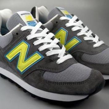 CREYONV new balance made in usa reg us574cy grey neon blue