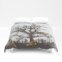 The alchemy of the tree Duvet Cover by anipani
