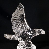 Waterford Crystal American Eagle Figurine