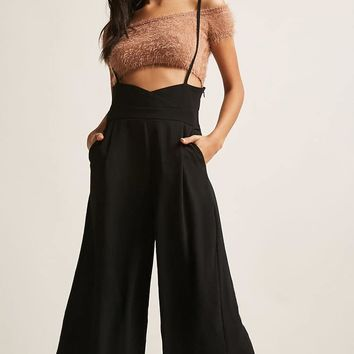 Scooped Culotte Jumpsuit