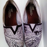 Custom TOMS Shoes from My Friends Closet