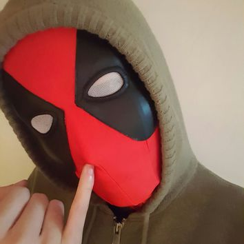 Deadpool Dead pool Taco Lycra Super Stretch  Mask Halloween Cosplay  Tights Hood Party Masks For Adults And Kids AT_70_6