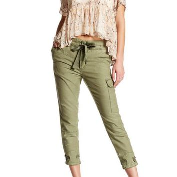 DCCKHB3 Free People | Don't Get Lost Soft Utility Pant