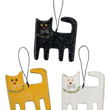 Christmas Cat Ornament - 3 Styles