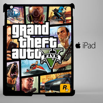 grand theft iPad 2, iPad 3, iPad 4, iPad Mini and iPad Air Cases - iPad