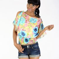 Floral Delight Top - Clothing