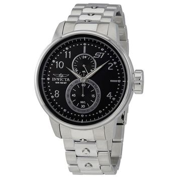 Invicta S1 Rally Black Dial GMT Mens Watch Watch 23060