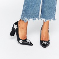 Daisy Street Star Heeled Shoes at asos.com