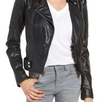 Andrew Marc Leanne Faux Leather Jacket | Nordstrom