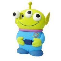 Disney 3D 3 Eyes Toy Story Alien Movable Eye Hard Case Protector Shield Cover Iphone 4/4S Gift -Blue:Amazon