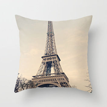 Good Morning Paris Throw Pillow by Msimioni | Society6