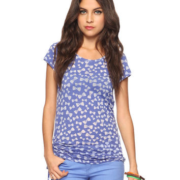 Burnout Bows Top | FOREVER21 - 2011408919