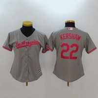 Women's MLB  Buttons Baseball Jersey  HY-17N11Y30D