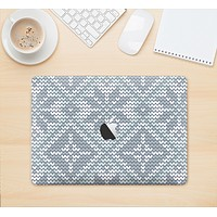 "The Knitted Snowflake Fabric Pattern Skin Kit for the 12"" Apple MacBook"