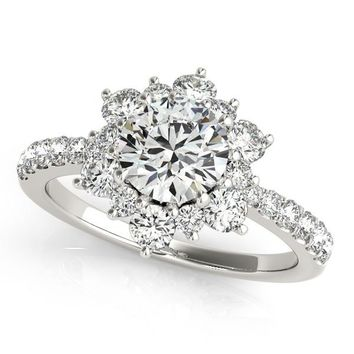 Best Snowflake Diamond Ring Products on Wanelo 60f92ed39d