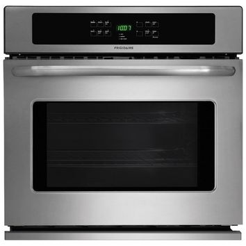 "Frigidaire - 30"" Built-In Single Electric Wall Oven - Stainless Steel"