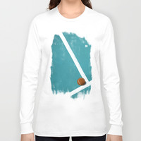 Tennis Long Sleeve T-shirt by Matt Irving
