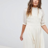 Boohoo Prairie Smock Dress at asos.com