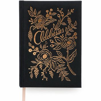 Rifle Paper Co. Raven Address Book and Keepsake Organizer
