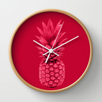 Pineapple Wall Clock by Simi Design