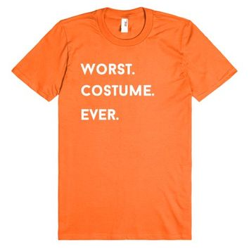 worst costume ever halloween shirt