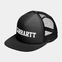 Carhartt WIP College Trucker Hat Black